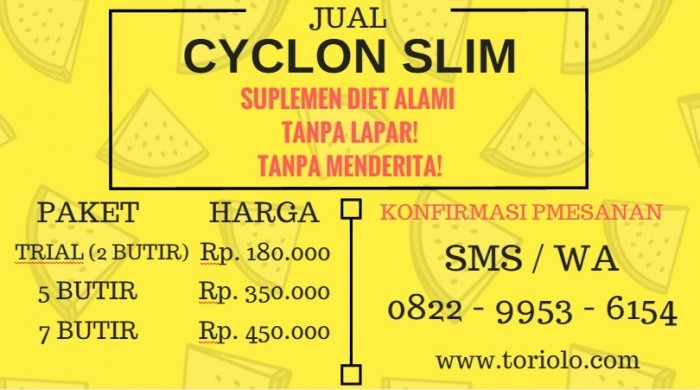 jual cyclon slim